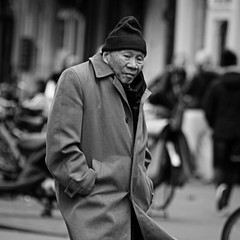 Another New Year for him (Iam sterdam.) Tags: man holland amsterdam chinesenewyear nieuwmarkt chinesepeople chineseman