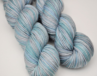 """Daybreak"" on Aurora worsted blend"