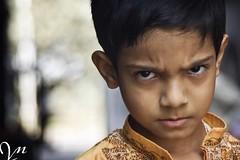 You dont mess with the BABUSHONA!!! (Lock, stock and 2 smoking barrels!!) Tags: india colour kids portraits children faces kolkata calcutta saraswatipuja sonyalpha200