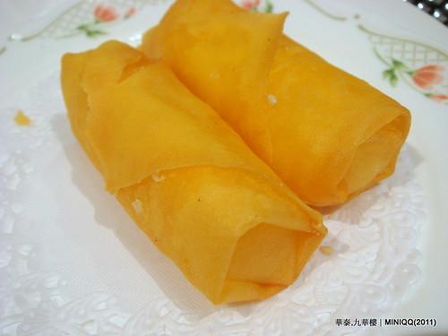 20110209 華泰飯店九華樓_11 香滑馬蹄糕(3/NT.95)