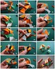 Cuboctahedron tutorial 2 (knotology) (Dasssa) Tags: origami tutorial knotology paperstrip dasssa