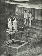 Tea House Garden 2 (TsurukoMaiko) Tags: japan japanese kyoto maiko geiko geisha kimono giesha oiran tayuu kamuro