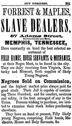 Nathan Forrest_Slave Trader