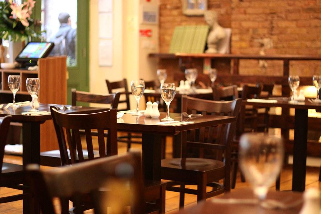 Italian Restaurant, Villiers Street, Charing Cross, London