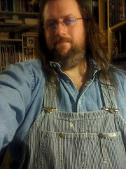 Double Denim (Jaquandor) Tags: vintage lee overalls denimshirt doubledenim hickorystripe 2011firsthalffave
