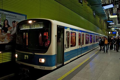 Weiter geht's nicht: Endstation Münchner Freiheit.