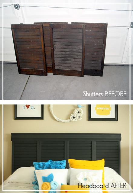 Headboard in Restyle fashion!
