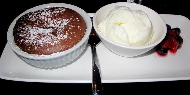 chocolate-souffle-vanilla-ice-cream-berries