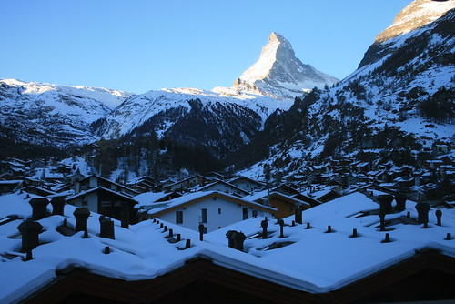 Morning in Zermatt