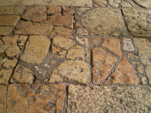 54 Roman era floor in Cardo