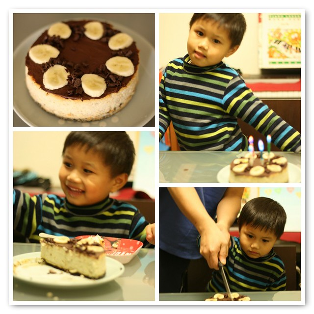 rafael's 4 year-old birthday