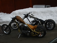 Rednecks (Marius Mellebye / 276ccm) Tags: skull chopper rust harleydavidson motorcycle airbrush pinstriping custombike custompaint mariusmellebye redneckengineering openbelt 276ccm jockeyshifter