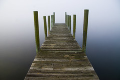 To Anywhere (MattGerlachPhotography) Tags: ocean morning water fog matt photography pier still dock soft quiet florida nowhere panamacity anywhere gerlach mattgerlachphotography