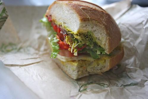sandwiching