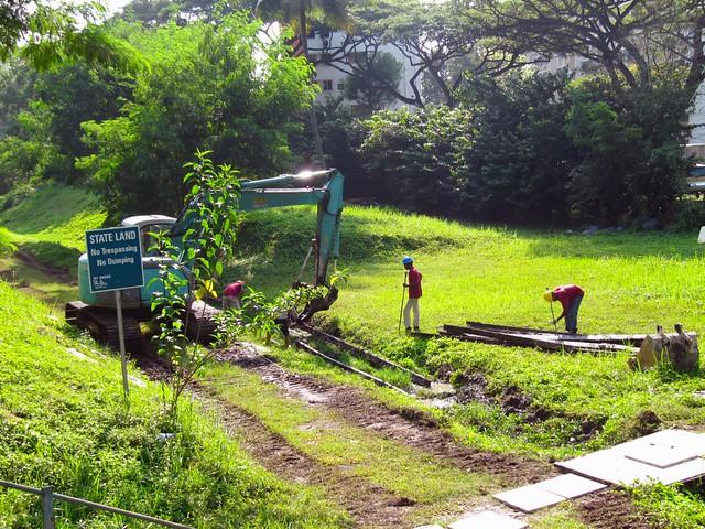 7 digging up tracks