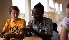 (michaelhebb) Tags: children drums child orphanage ghana drumming semesteratsea takoradi spring2011 sasspring2011 semesteratseaspring2011 fathershomecareministries
