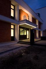 Refurbished Entrance - At Night