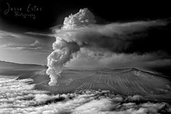 Mount Bromo - East Java, Indonesia (Jesse Estes) Tags: indonesia photography volcano smoke ash remote secluded mountbromo eastjava jesseestes indonesiaphotography jesseestesphotography mountbromoeruption