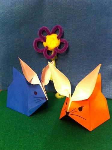 Origami Rabbits