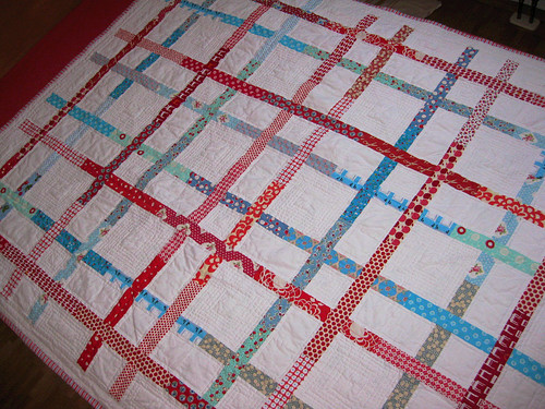 square dance quilt top