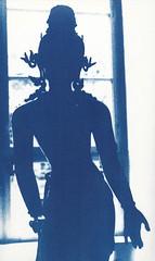 enlightened one (Greater Apeness) Tags: buddha britishmuseum cyanotype altprocess