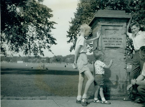 McCreath family - North Inch Perth 1960