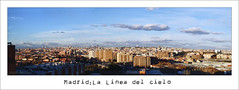 Madrid:la linea del cielo (osolev) Tags: madrid city urban panorama espaa landscape spain espanha europa europe stitch pano capital ciudad paisaje ps panoramica urbana urbano espagne stitched ville spagna citta urbe cs4 autopano skykine colomo spanija osolev lineadelcielo