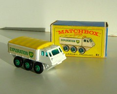 Matchbox Model No. 61 - Alvis 'BP Exploration' Stalwart (Kelvin64) Tags: 6x6 toy army toys no military models vehicles vehicle british bp exploration matchbox alvis 61 petroleum militaries armies 6x6s stalwart stalwarts 6wheeldrive 6wheeldrives