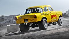 Henry HiRise - Ford Consul Gasser - 2010 NSRA Hot Rod Drags