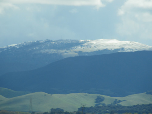 Snow on the Hill Tops