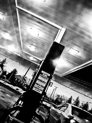 nightshot gas station