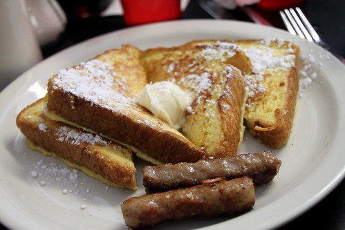 french toast w/ sausage