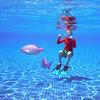Pool fish (YetAnotherLisa) Tags: fish pool mexico snorkel yucatan mexicanriviera barcelomaya