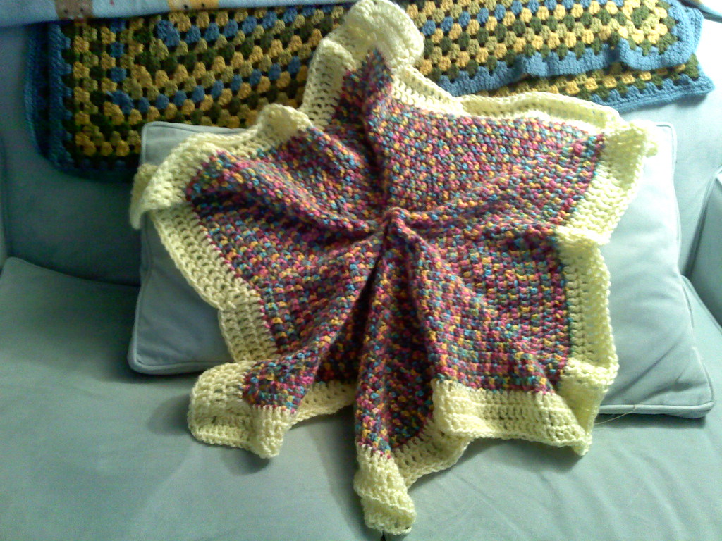 Multi Colored Star Blanket