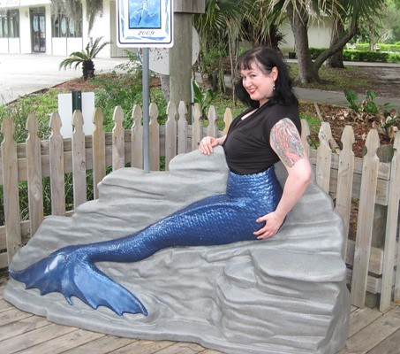 merm blue tail