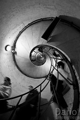 Staircase@Arc de Triomphe (Deaerreio) Tags: people bw white fish black paris france pez eye blanco stairs de spiral ojo stair angle y gente sony negro wide 8 case bn fisheye staircase rey and gran mm ocho garcia alpha 8mm angular francia espiral ultra eight dario 550 erre aplha samyang milimetres milimetros erreeigriega eigriega geaerreceia