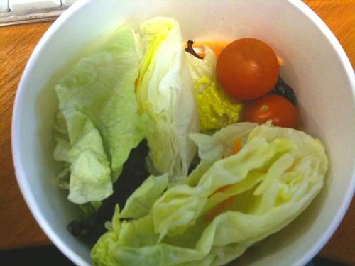 McDonald's side salad