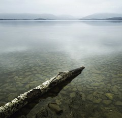 An Unstaged Shot From Millarochy Bay! (Samantha Nicol Art Photography) Tags: water fog square bay scotland log nikon exposure hills loch samantha scape lomond nicol balmaha millarochy