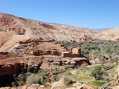 Villages (Federilli) Tags: road village mud morocco marocco marrakech marrakesh villaggio telouet mudhouses