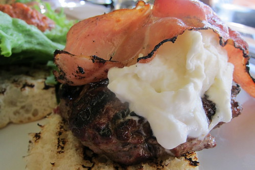 Little Dom's: Burger with Burrata