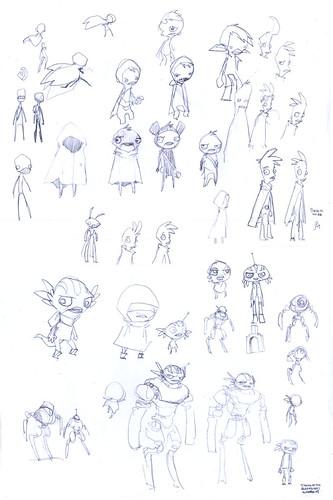 Tankian concept sketches