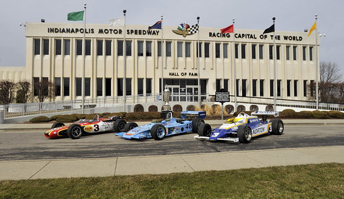 2011 Bobby Unser Indy 500 Winning Cars