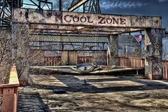 Six Flags - New Orleans, LA (Ron Foxx) Tags: green abandoned beer photoshop katrina nikon rust louisiana decay interior neworleans ruin brewery noiseninja fading decline hdr corrosion blight crescentcity crumbling wasting bigeasy topaz downfall disrepair lucisart dixiebeer failing ruination photomatix wastingaway depreciation d80