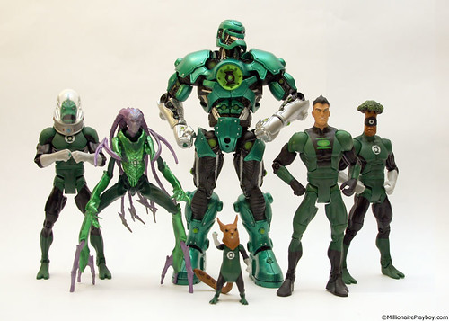 The Green Lantern Corps (wave 2)
