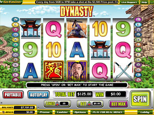 Dynasty slot game online review