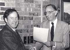 Joe Hevron and Bill Koch