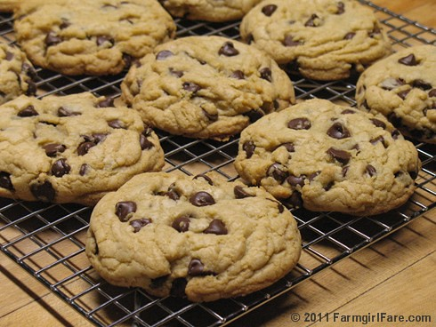 Nigella's Big Chocolate Chip Cookies Two Ways