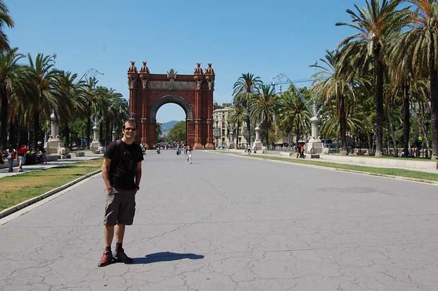 arco do triunfo_Barcelona