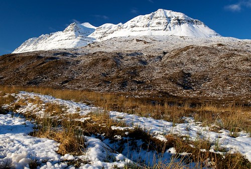 The snow returns to Liathach