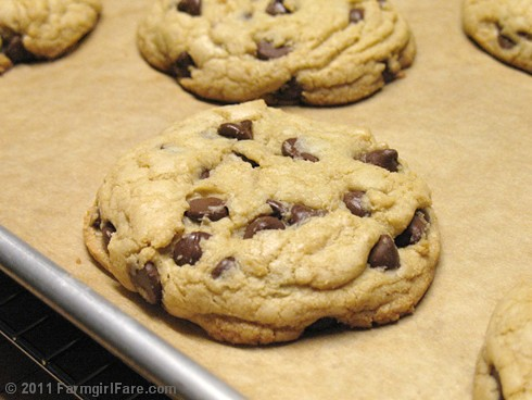 Nigella's Big Chocolate Chip Cookies 3